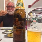 Cobra beer delicious !!!!! Great with your starters