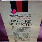 Histoire de l'hôtel 😉