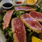 Ahi Tuna with Dipping Sauces