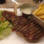 300gr The bone steak with Rochefort sauce