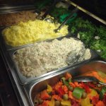 Egg salad, chicken salad, marinated vegetables, beet salad, the list goes on… What a lovely dinn