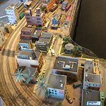 Town in model display