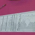 sistema de pedido marcando listado