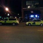 #1 Green Cabs outside of Lot 1. From www.greencabdbq.com