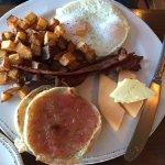 Full two egg breakfast