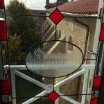 Vue sur l'Abbaye fenêtre fermée