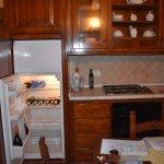 fridge, stove