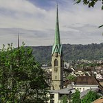 Vista do terraço do Instituto Federal de Tecnologia de Zurique