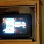 Cathode Ray Tube TV - HD channels on a TV that doesn't support them. - second room