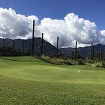 ゴルフコース練習場