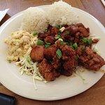 Mochiko Chicken plate