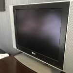 Its an old computer monitor as working like TV