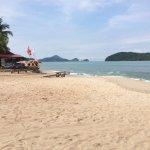 Beach (5 minute walk)