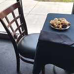 GrapeX is a casual wine bistro located next to the Chop House and Bass Pro Shops off I-40 exit 4