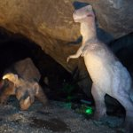 Dinos in the caves