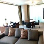 Living area - Deluxe One Bedroom Suite