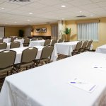 The Counties Meeting Room can seat up to 120 guests.