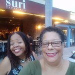Francine and me at Suri in Lake Worth, FL