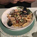 espaghetti com frutos do mar