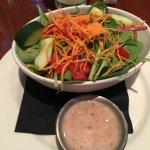 Side salad in place of seasonal vegetables