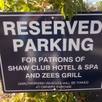 Zees Grill, Shaw Club Hotel & Spa, Niagara-on-the-Lake, ON.