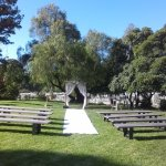 Beautiful day for an outdoor wedding. www.catherinemueller.com.au