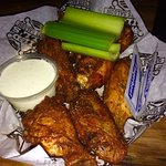 Beer and wings at Wild Bill's for a Steeler game... We're Game!!