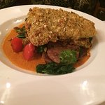 Entree: Crusted Rockfish