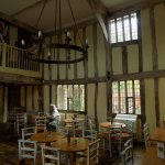 A 500 year old tea rooms, with minstrels gallery!