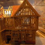 An absolutely exquisite detailed model of the Guildhall, illustrating how it was built!