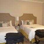 2 queen size beds in the Deluxe Double Queen Room