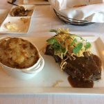 Te Steak & potato gratin
