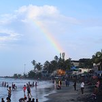Rainbow @ Lighthouse Beach , Kovalam