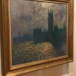 one of the exhibited Monet paintings