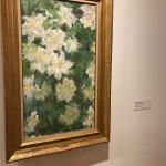 Monet painting in show