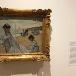 one of the small size paintings Monet painted