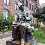 Photo of H.C. Andersen Statue