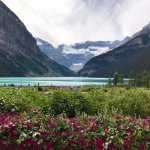alpine lakes and mountains