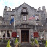Atholl Arms Hotel - front entrance