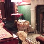 Atholl Arms Hotel - Foyer Lounge ... one happy dog