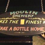 Atholl Arms Hotel - Bothy Bar serves sister-Inn Moulin Inn's Moulin Ales