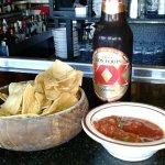 Free chips and salsa at Papagayo