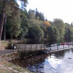 At Pitlochry Boating Station - October 2017