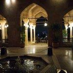 zona ingresso con fontana e vista sulla Moschea di Mohamed Ali