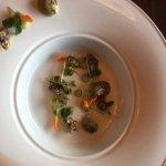 dinner plate at Eden