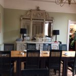 A spacious and well laid out Dining Room