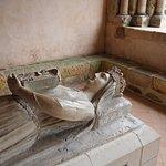 Close up, Queen Berengaria's tomb