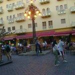 plaza de la ciudad amurallada