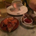 Devonshire Crab and Sausages with Bloody Mary ketchup