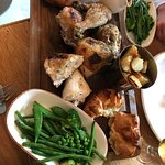 The best roast dinner ever, chicken, beef, all gorgeous. Highly recommend.